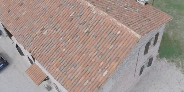 tetto completamente ristrutturato