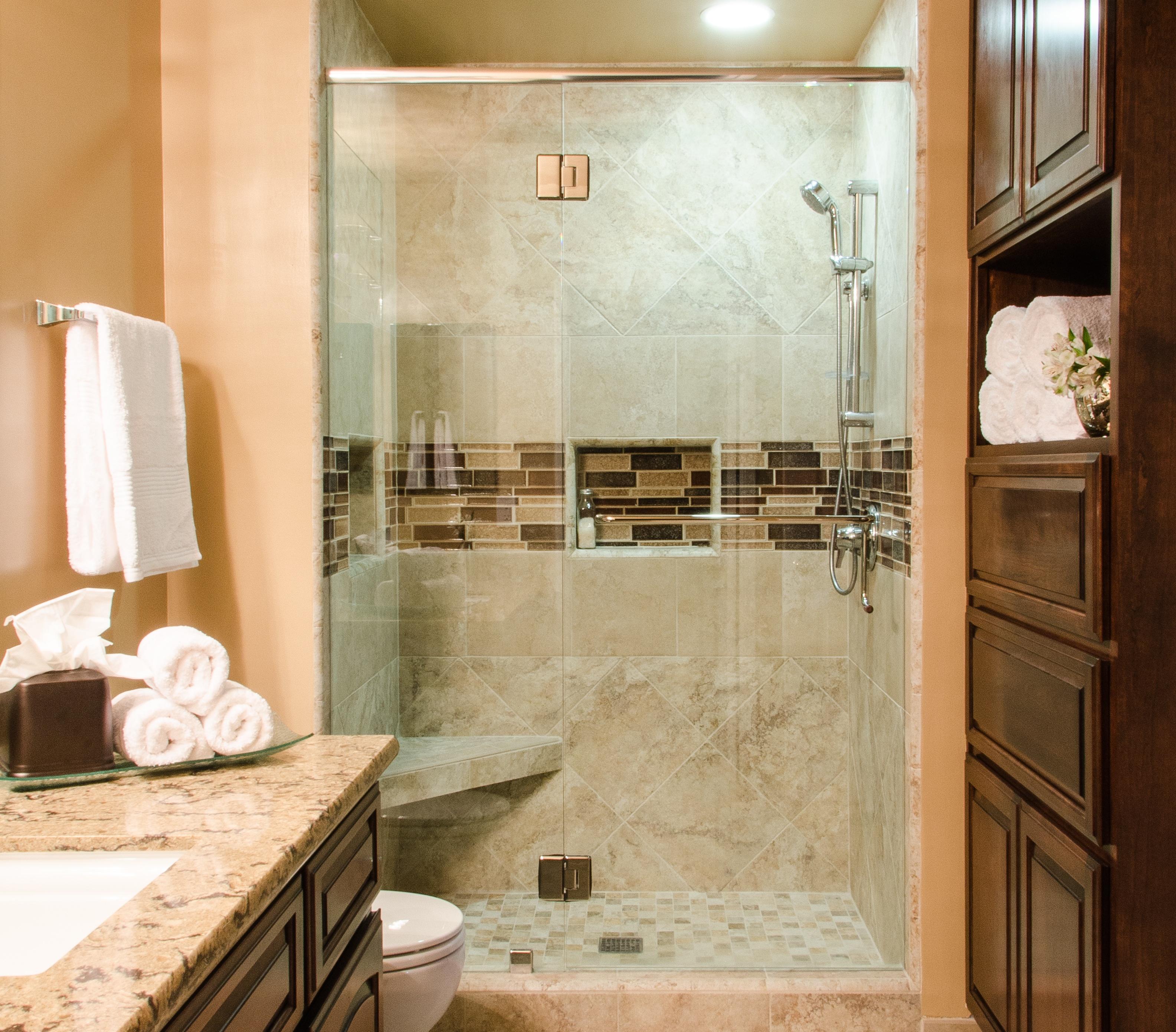 stile classico per un bagno rinnovato