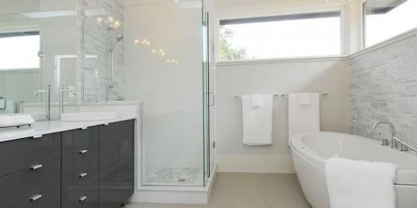 bagno ristrutturato moderno