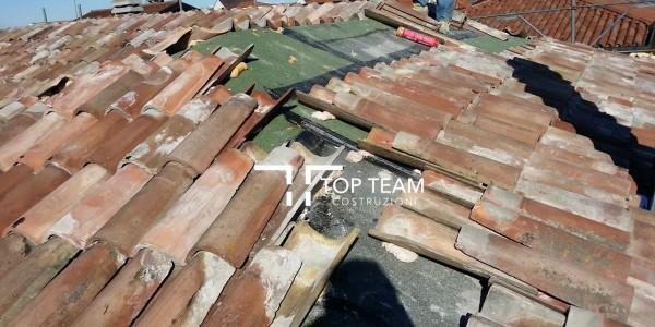 fasi di lavorazione tetto