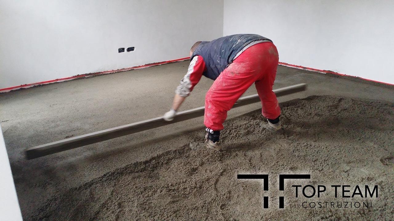 Massetto treviso venezia padova mestre - Massetto sabbia cemento proporzioni ...