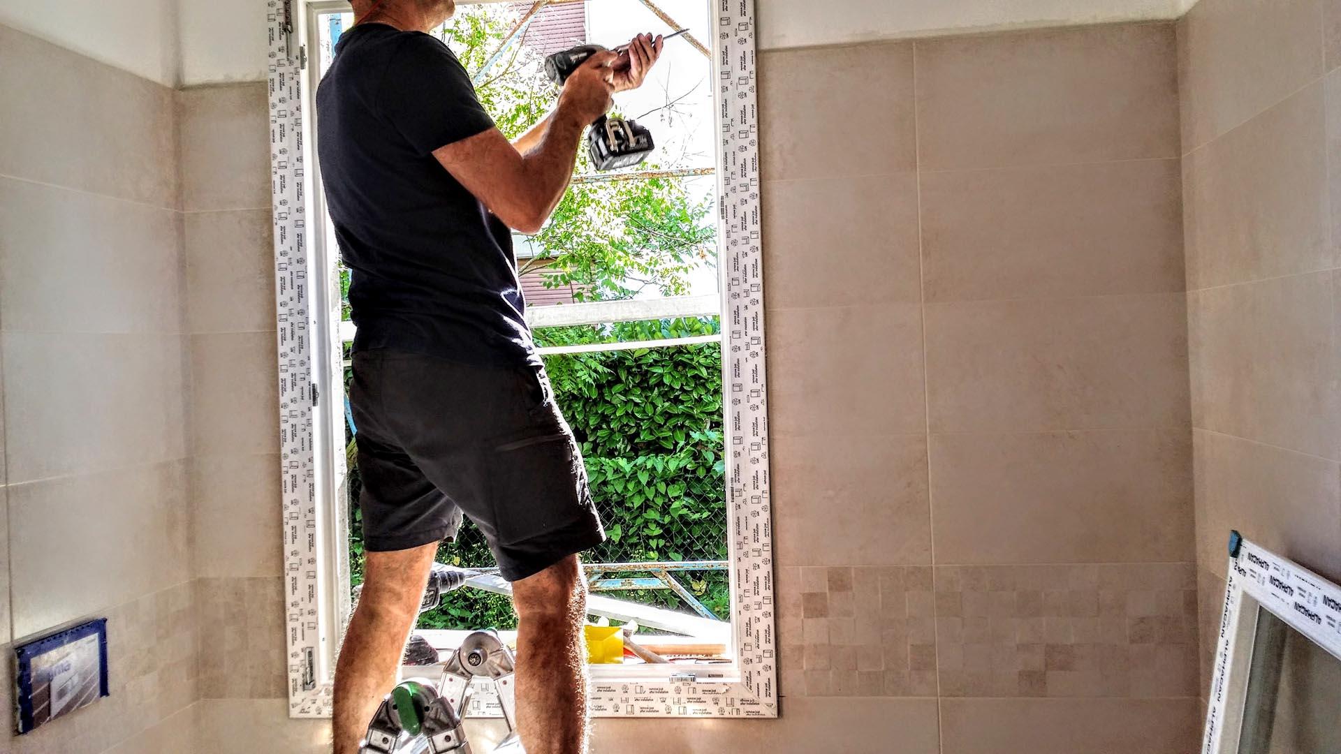 Serramenti pvc treviso infissi e finestre pvc - Montare una finestra ...