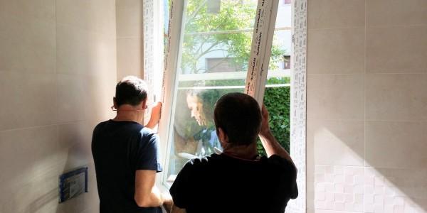 posa della finestra