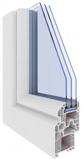 serramento pvc triplo vetro treviso
